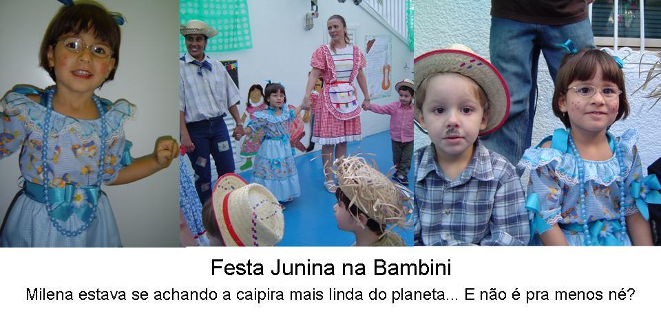 festa junina na bambini reação