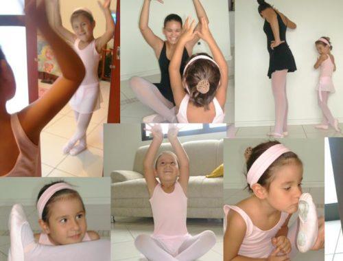 minhas filhas dançando ballet